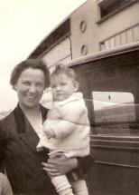 Liesel Oestreicher mit Tochter Margaret